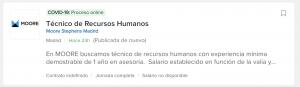 Empezar a trabajar en Recursos Humanos 2 1