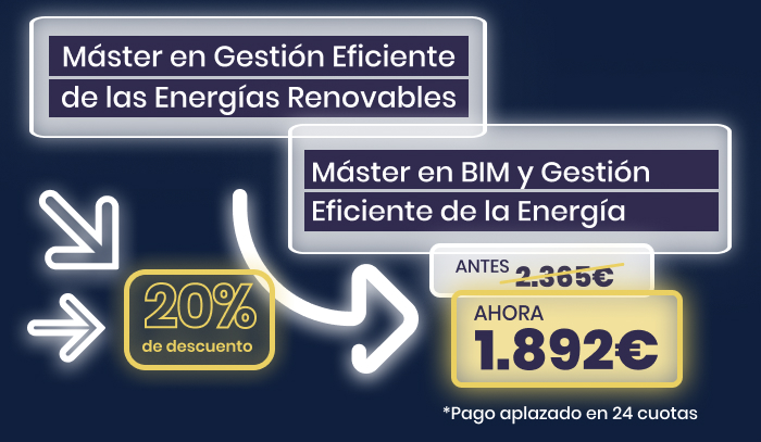 oferta masteres BIM energias renovables