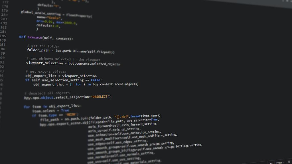 ¿Cómo utilizar indentacion en Python?1