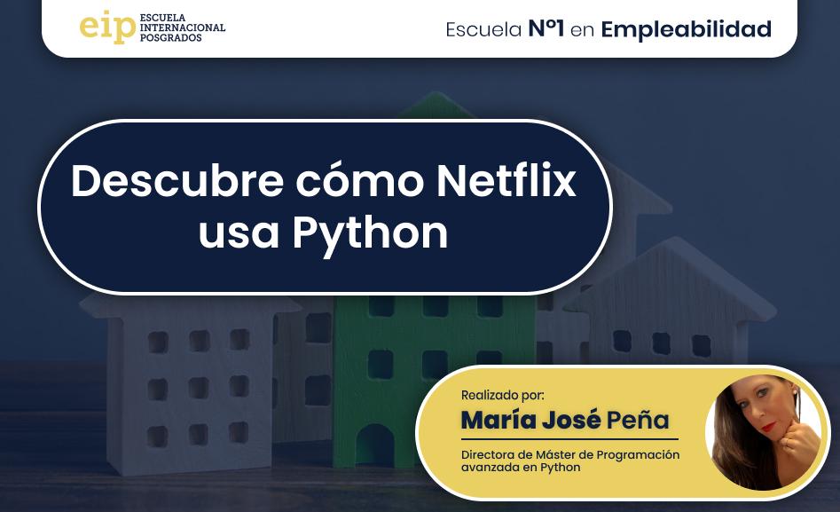 cómo netflix usa python