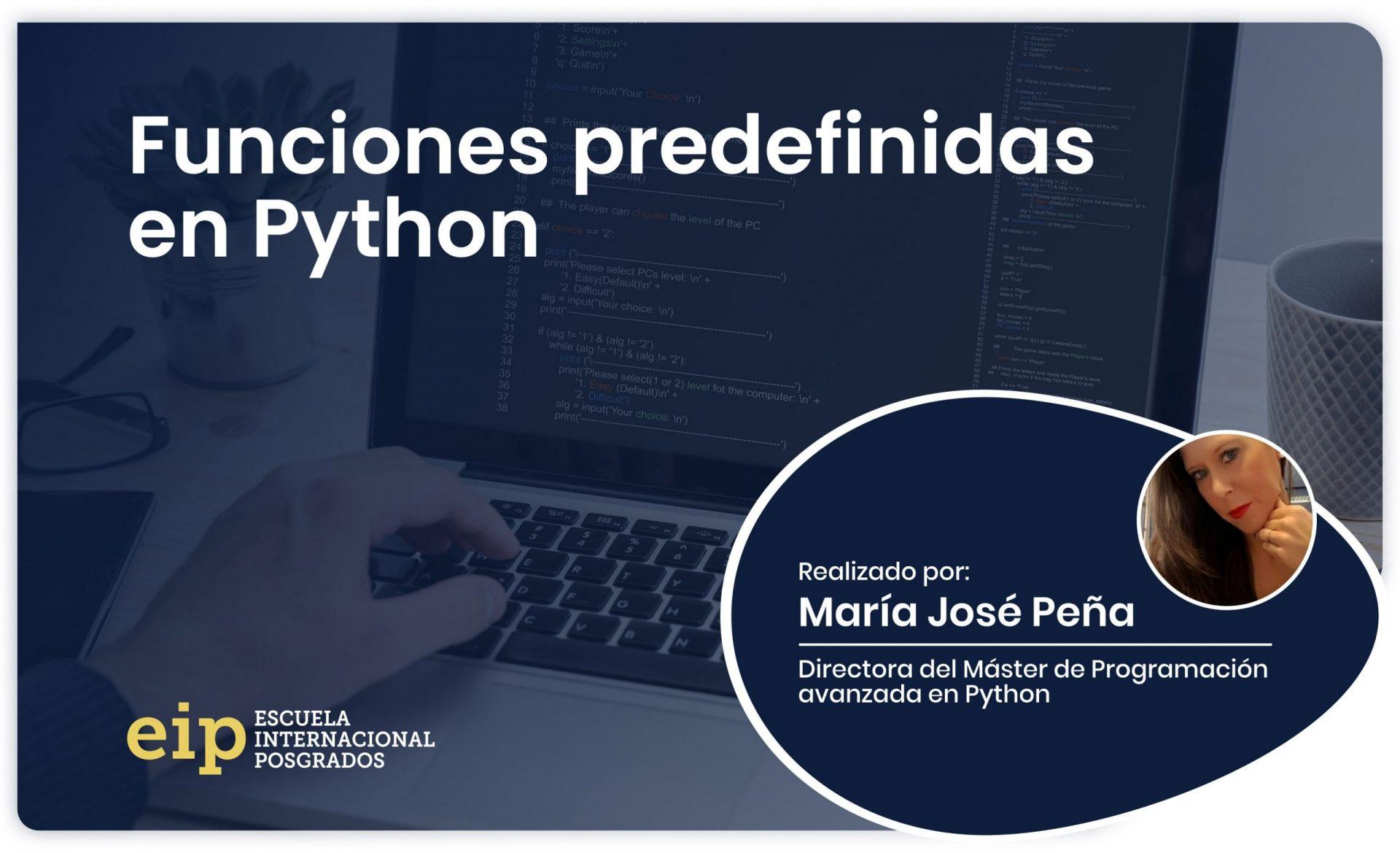las funciones predefinidas en Python min scaled