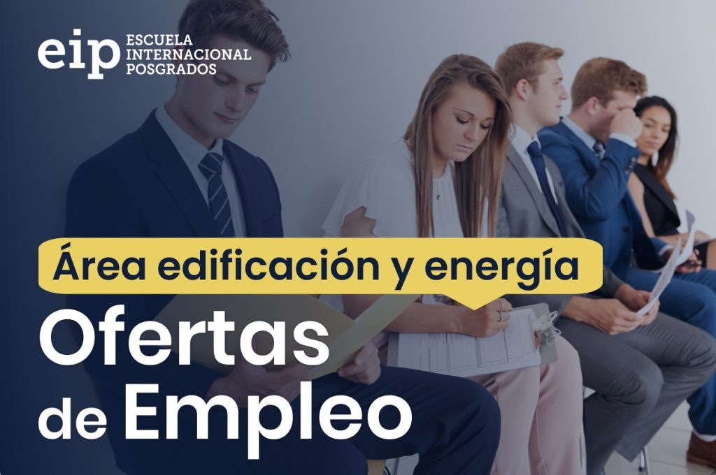 ofertas de empleo área de energía y edificación