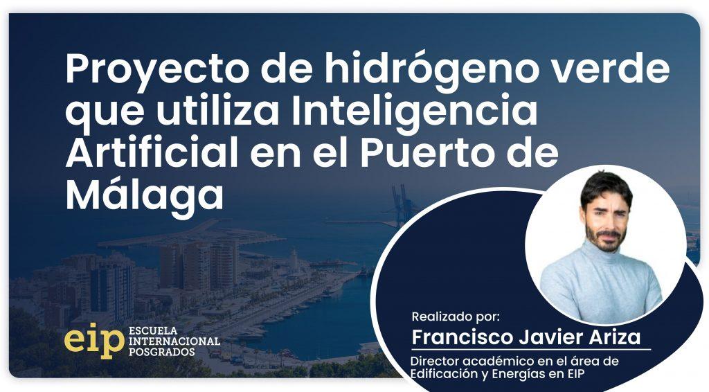 proyecto de hidrógeno verde en el puerto de málaga