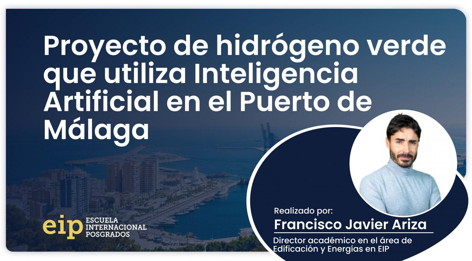 proyecto de hidrógeno verde en el puerto de málaga scaled