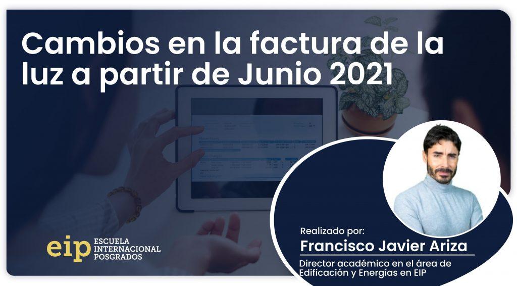 cambios en la factura de la luz a partir de junio 2021