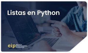 crear listas en python