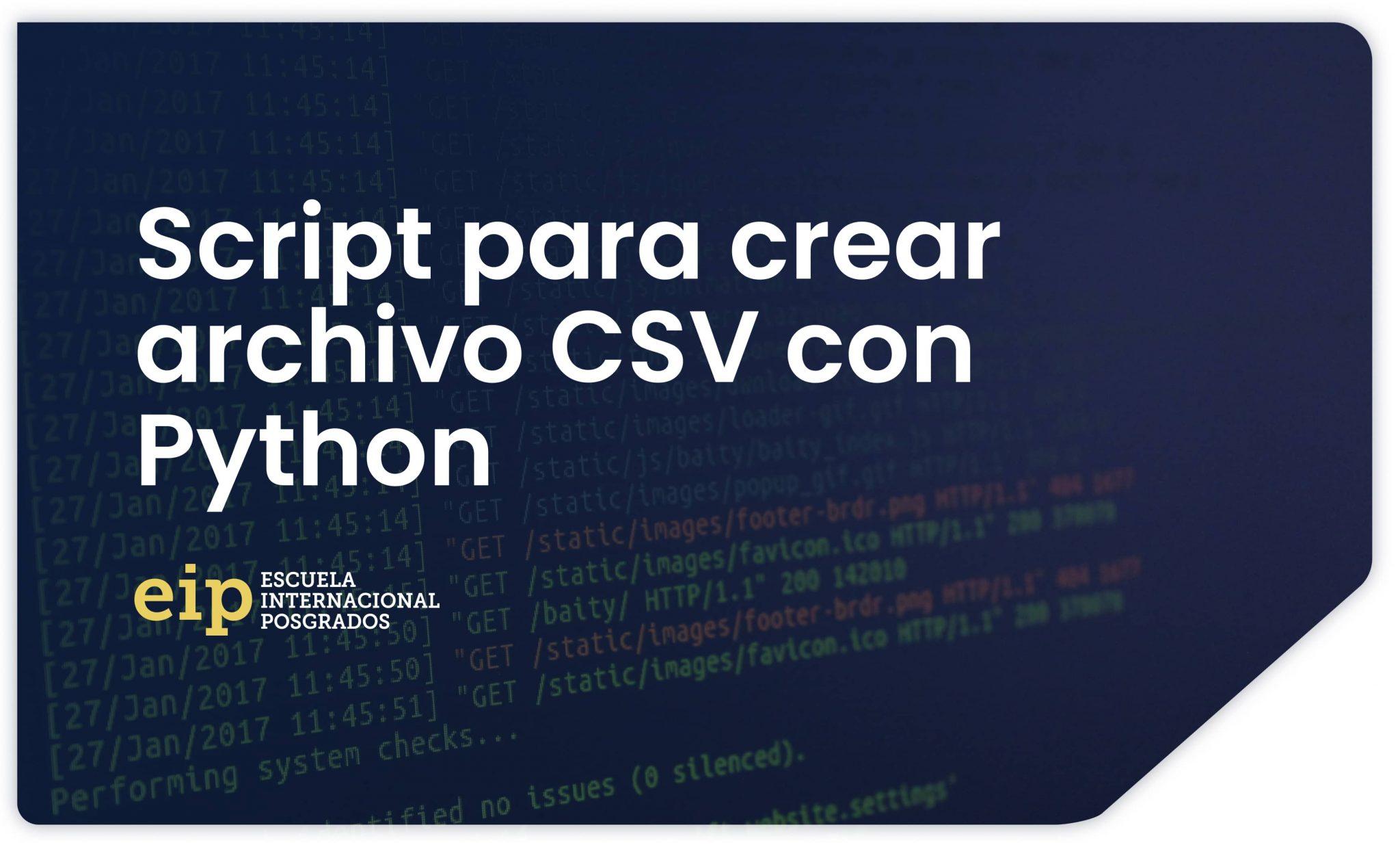 Python CSV