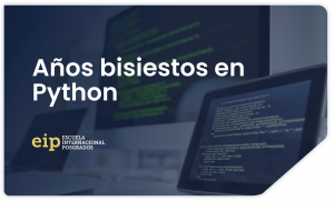años bisiestos Python